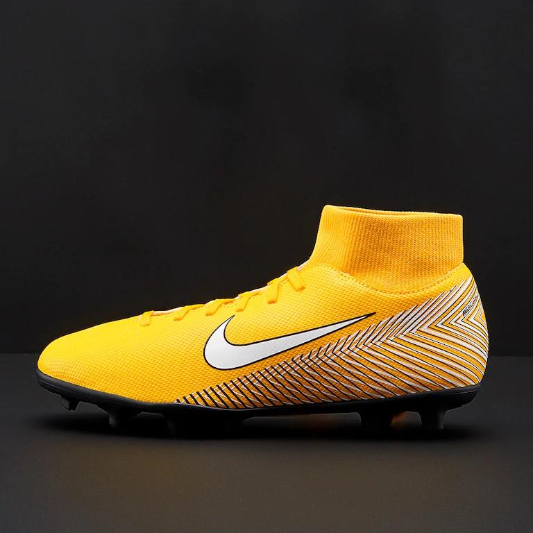 Football shoes Nike FußballSchuhe Mercurial Neymar Superfly 6 Club MG orange