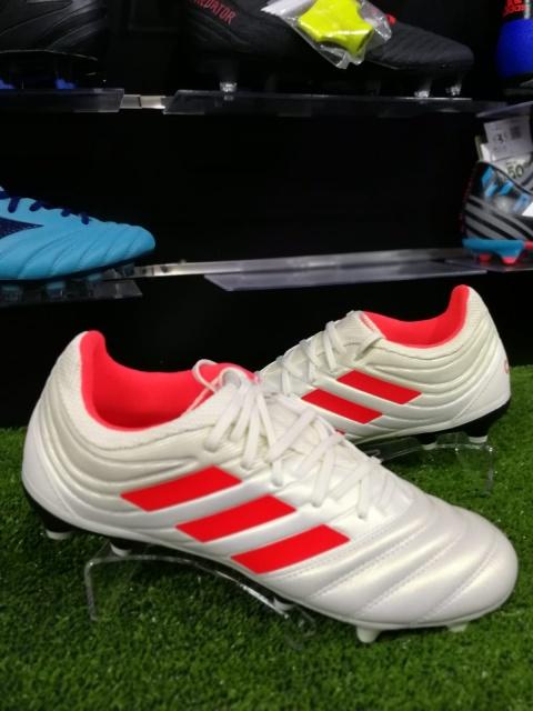 huge inventory 1d4d9 b883b ... Scarpe calcio Adidas Copa Mundial 19.3 FG Bianco Uomo - Football Boots Shoes  Adidas Copa Mundial ...