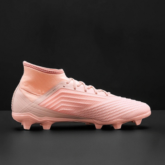 82c4f3d3f6d33 ... Scarpe da Calcio con calzino PREDATOR 18.2 FG Adidas Uomo 2018 Rosa  Originale - Football boots