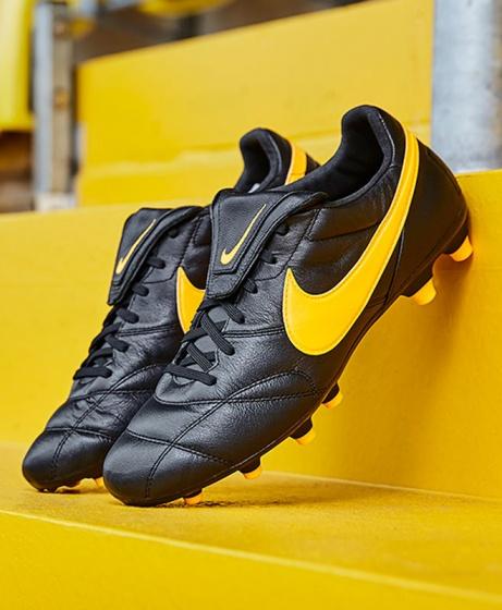 75b17c54ad8 Football boots shoes Nike Cleats Premier II FG Men Black Kangaroo ...