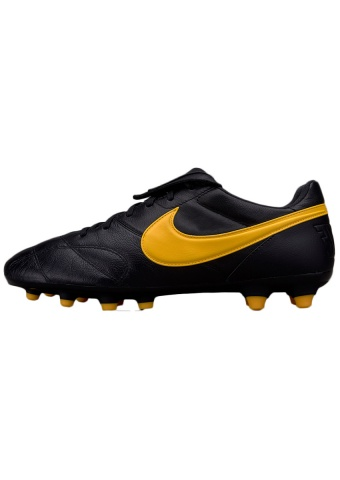 ... </strong> soccer shoes Nike Premier II FG mens black kangaroo ...