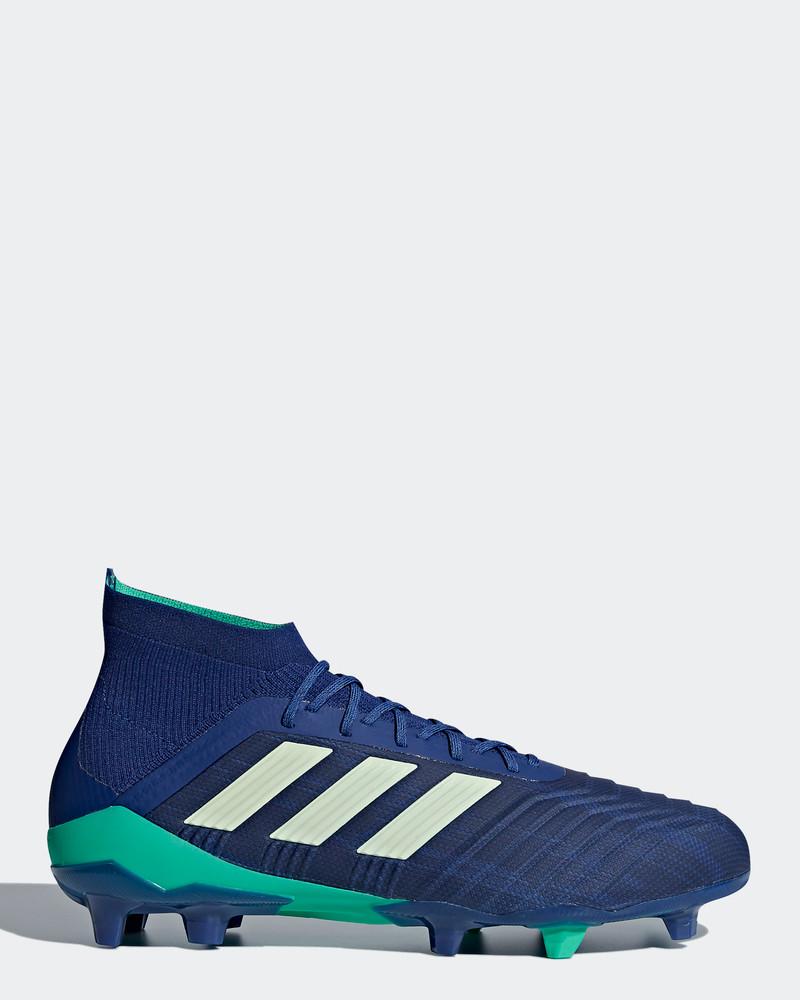 half off 7fc1d a331c Primeknit Adidas 1 Fg 18 Top Uomo Predator Scarpe Calcio Di Blu IXqwgO