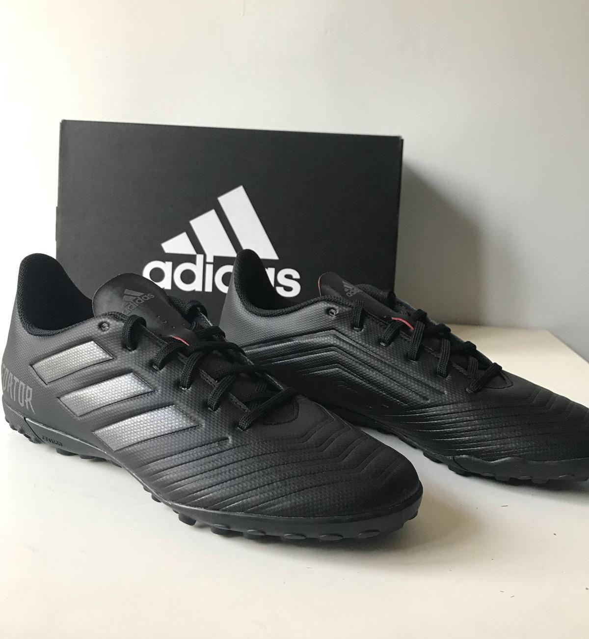 Football shoes Adidas Predator Tango 18.4 Noir Five-a-side-football ... 9c9ab57e5fb5c
