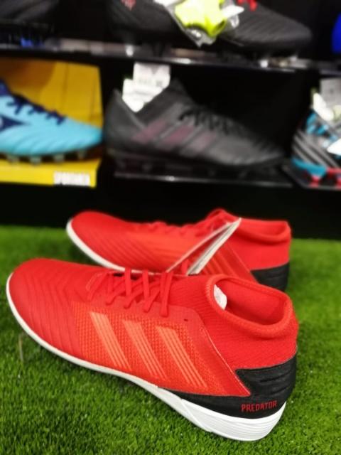 best website d1cca 95d72 ... Scarpe Calcetto Adidas con calzino Predator Tango 19.3 Turf Uomo 2019  Rosso Active - Football Boots ...