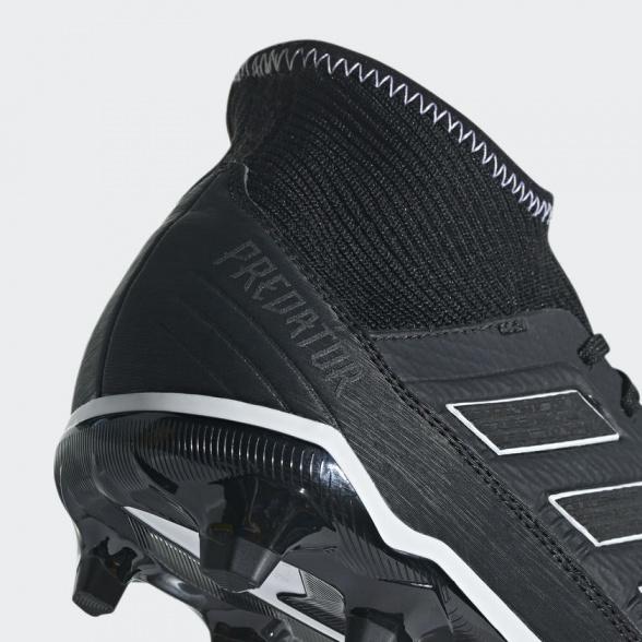 Détails sur shoes Adidas Chaussures de football Predator 18.3 FG Noir avec chaussette