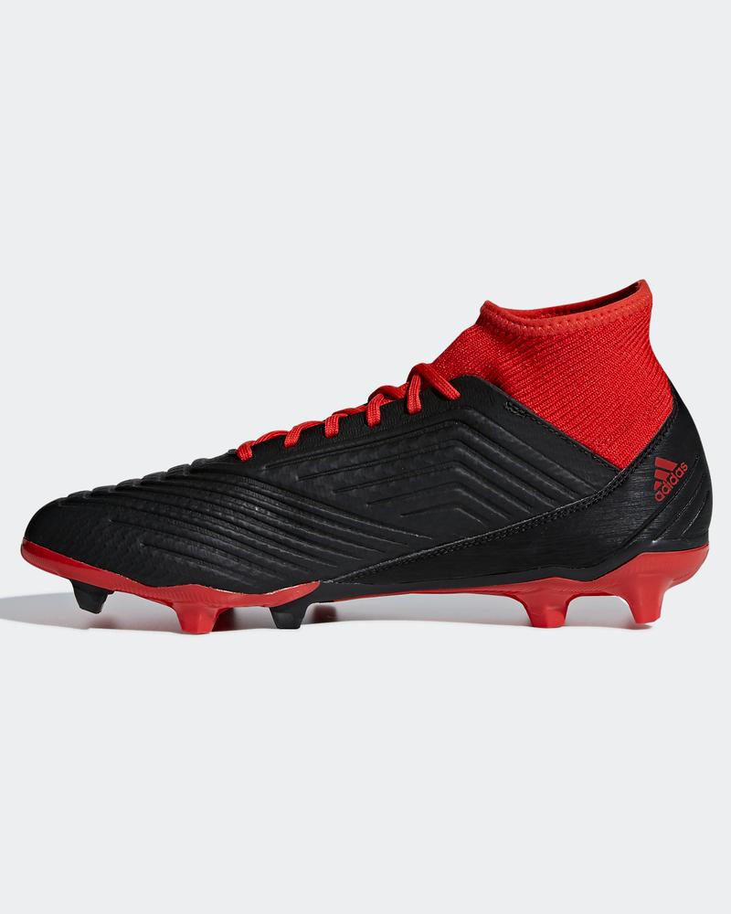 Chaussures Noir 18 Predator Roug Football De Fg Adidas 3 Shoes Chaussette Avec hdxrsCtQBo