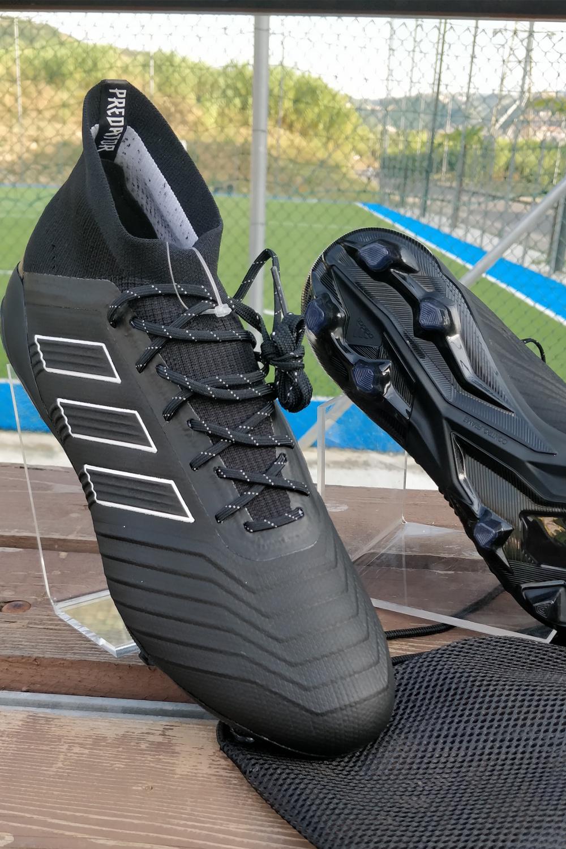 best website 5526b 0cd85 Predator Primeknit 18 1 Top Nero Uomo Di Adidas Scarpe Fg Calcio qXwgR