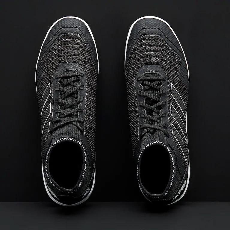 Fußballschuhe Schuhe Predator Tango 19.3 Indoor Futsal Adidas mit Socke Herren 2019 Schwarz ARCHETIC