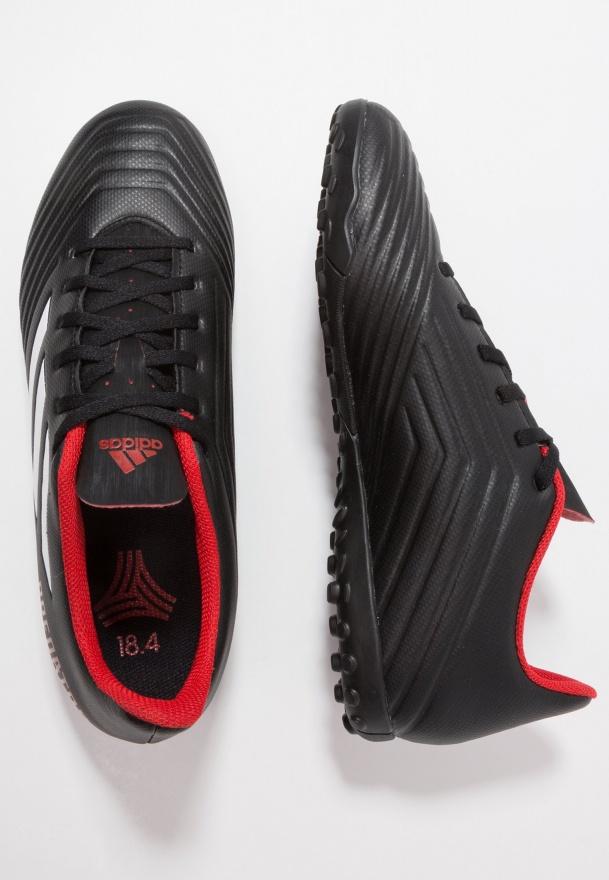 f763eab3ba27d8 ... Scarpe Calcetto Adidas Predator Tango 18.4 Turf Trainers TEAM MODE Uomo  Nero rosso - Football boots