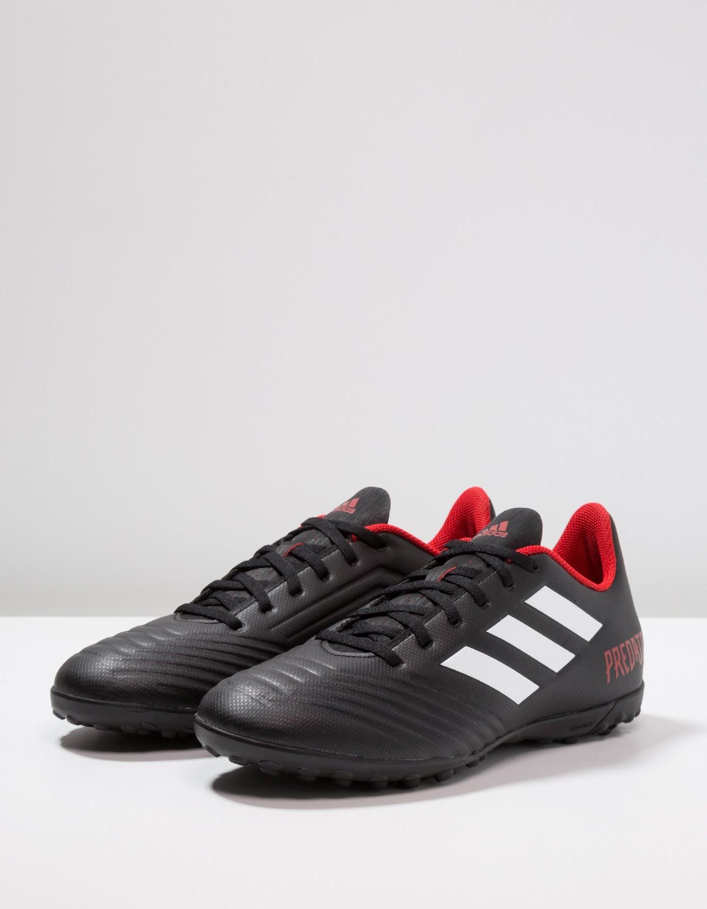 bf390c7a1cb2fc Adidas Scarpe Calcio Football Predator Tango 18.4 Turf Nero Uomo 2018  Calcetto