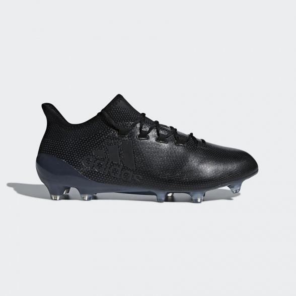 Adidas Scarpe Calcio Football X 17.1 FG Nero Top di gamma con calzino techfit
