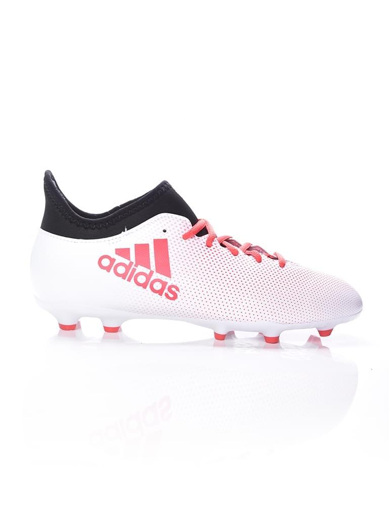 competitive price 12a73 56382 Adidas Scarpe Calcio Football X 17.3 FG Techfit Bianco con calzino