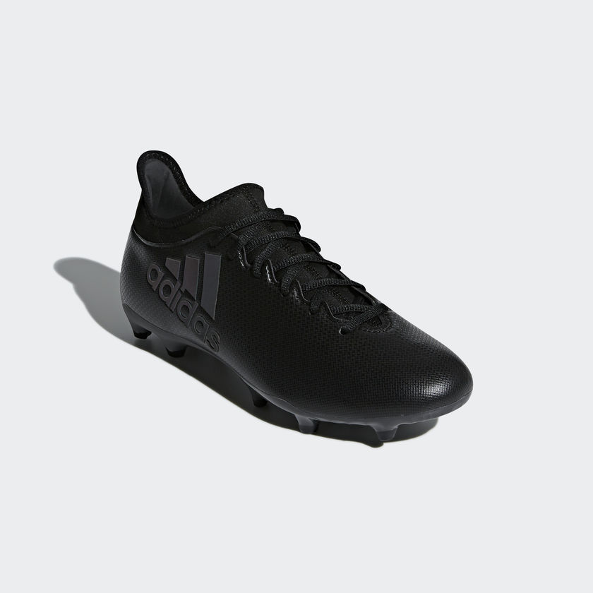 Shoes X Nero 17 Scarpe Fg Con Football Adidas Calcio Techfit 3 dgIxFw