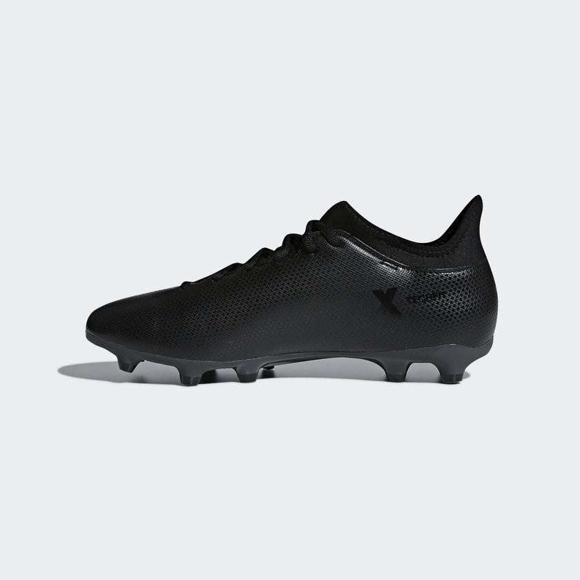 timeless design 30ed8 c090a Adidas Scarpe Calcio Football X 17.3 FG Techfit Nero con calzino