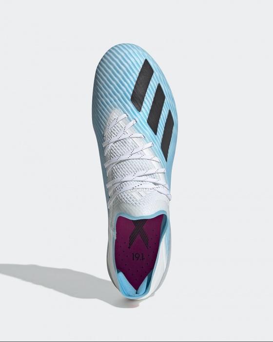 Adidas Soccer Shoes Football x 19.1 FG Firm Ground FG Blue | eBay