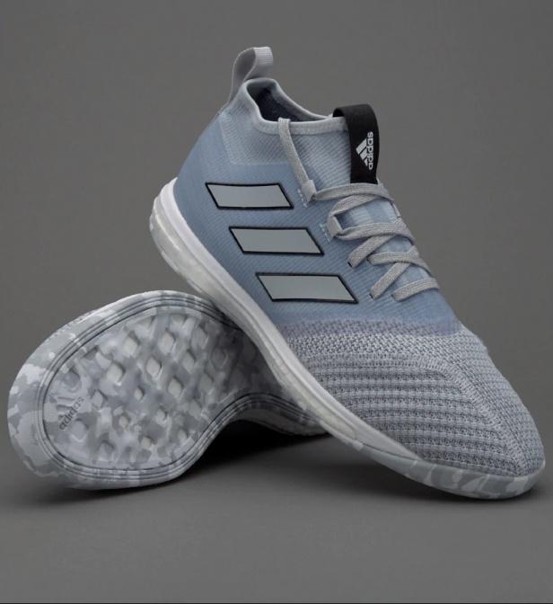 more photos 9554d 1f391 ... Scarpe Calcetto Adidas ACE TANGO 17.1 Indoor Boost con calzino Uomo  Grigio - Football boots shoes