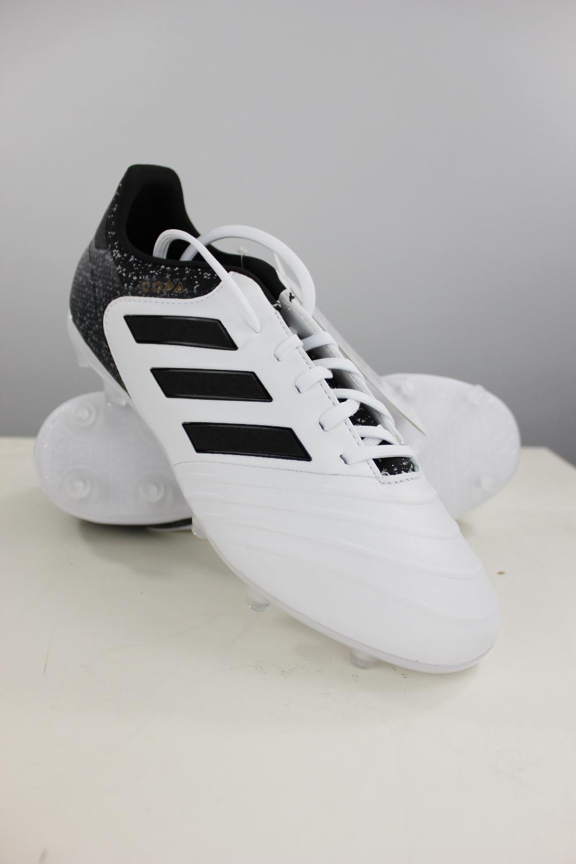 Scarpe Copa Shoes Fg Da Di 18 Bianco Adidas Calcio Football 2 Pelle XEqRxX
