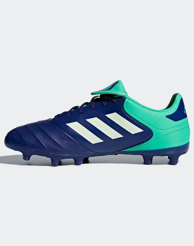 Football Stiefel Stiefel Stiefel schuhe Adidas Cleats Copa 18.3 FG Navy Real leather 5f0761