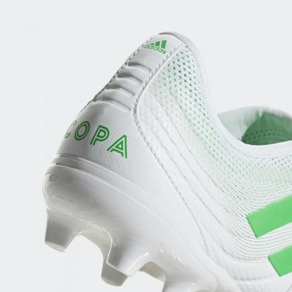 Adidas Scarpe da calcio Copa Gloro 19.2 Firm Ground blanc