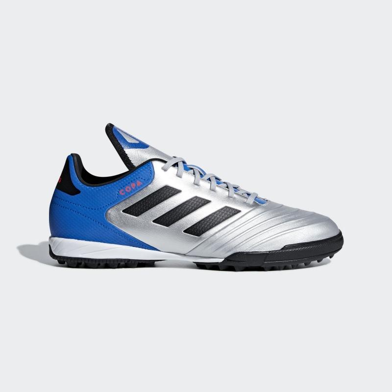 Dettagli su Football shoes Adidas Scarpe Calcio Copa Tango 18.3 Silver Calcetto Turf 2018