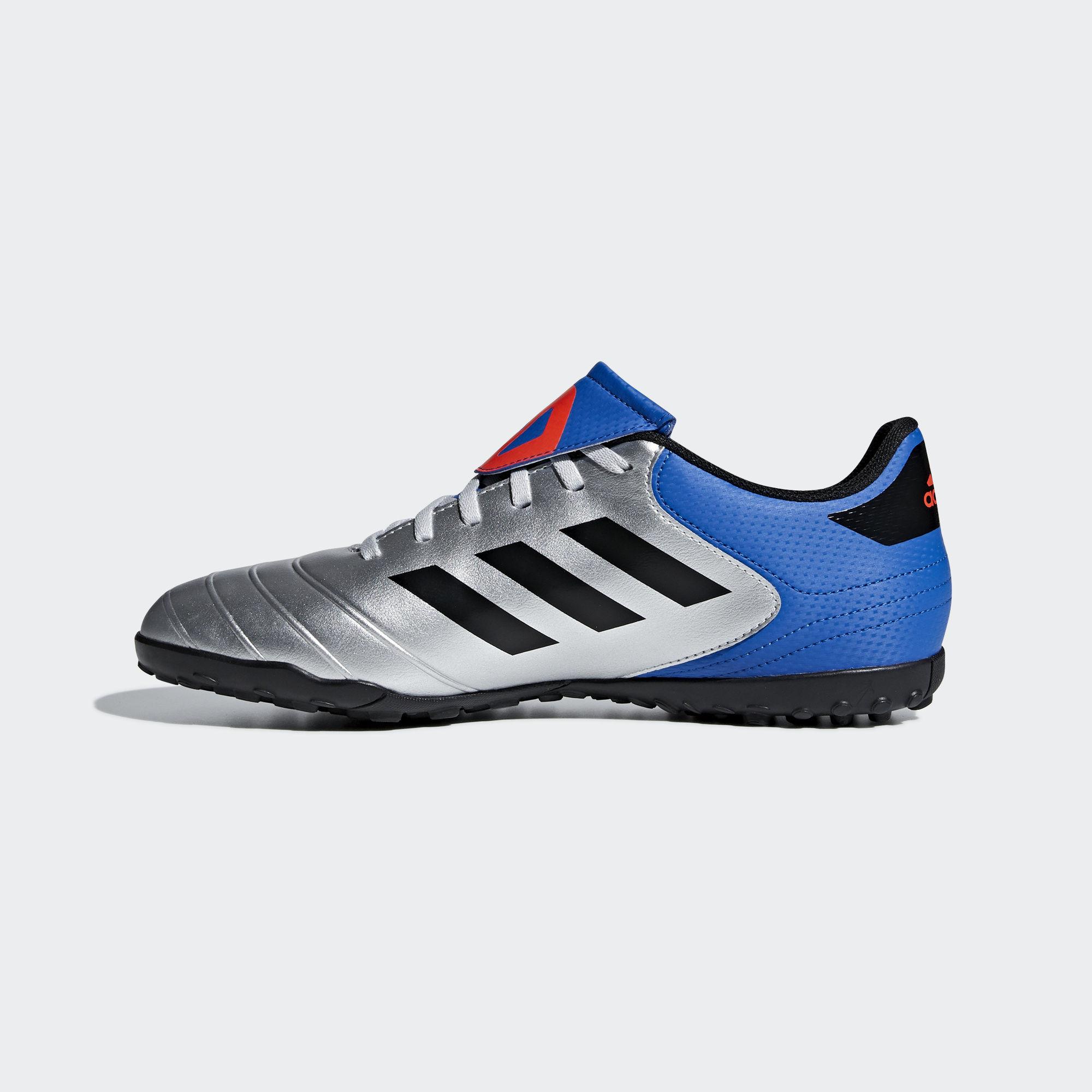 Football-shoes-Adidas-Scarpe-Calcio-Copa-Tango-18-4-Silver-Calcetto-Turf-2018 miniatura 7