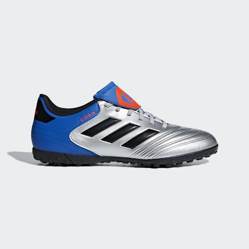 magasin large choix de couleurs gros remise Football boots shoes Adidas Cleats Copa Tango 18.4 Silver Turf Trainers  2018 | eBay