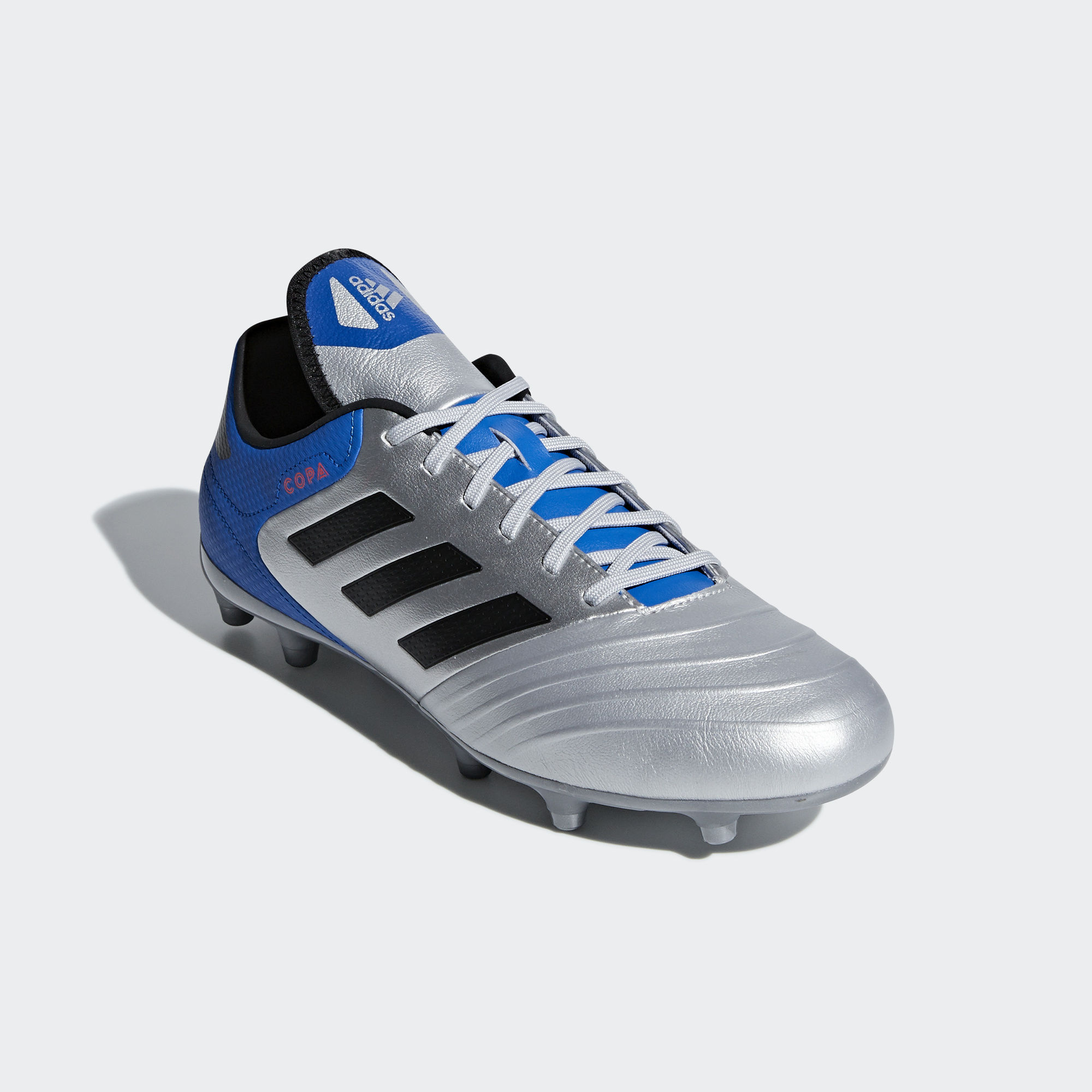 Football shoes Adidas Scarpe Calcio Copa Grigio Silver 18.3 FG 2018 Vera  Pelle 4 4 di 9 ... 2d6337ae2be
