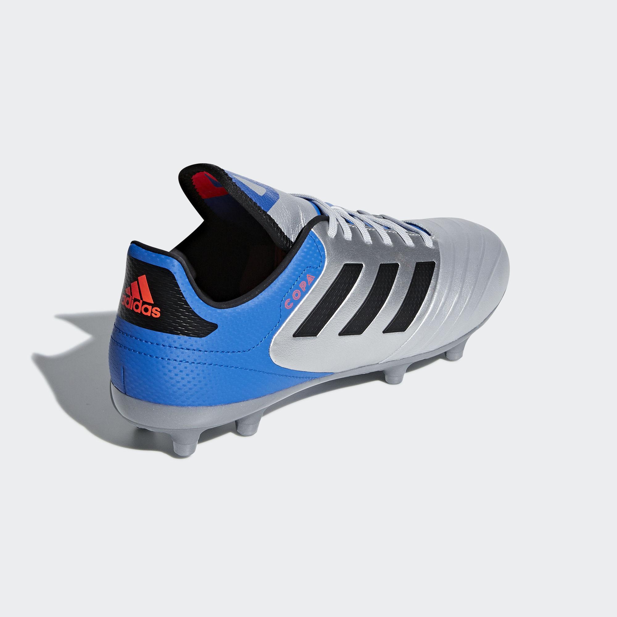 Football shoes Adidas Scarpe Calcio Copa Grigio Silver 18.3 FG 2018 Vera  Pelle 8 8 di 9 ... f3e2b45d7c0