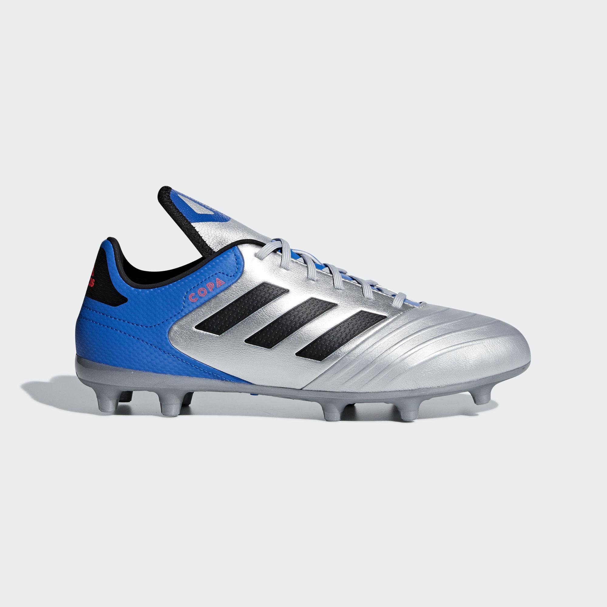 2018 Vera Pelle Copa 18 Calcio Adidas Grigio 3 Scarpe Football Fg vyNO8nm0wP