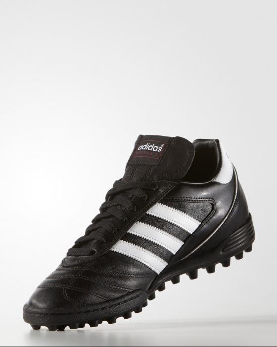 78d5471737da9 ... Indoor Soccer zapatos Adidas Kaiser 5 equipo de fútbol de césped botas  zapatos cuero original negro ...