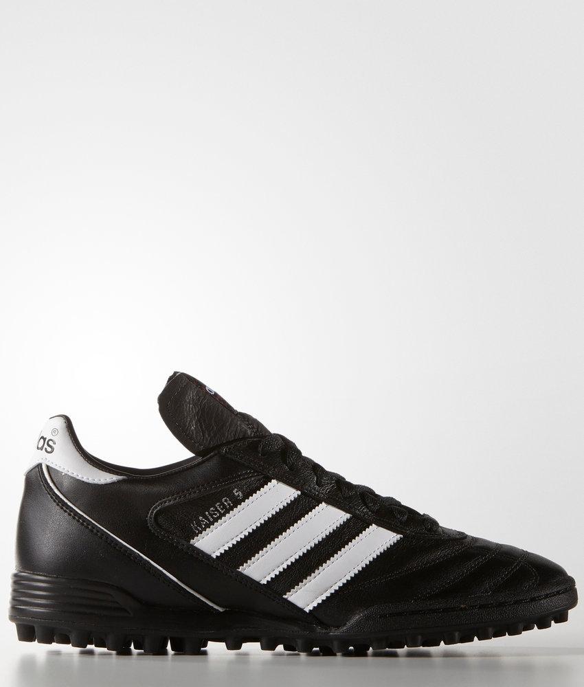 Adidas Scarpe da Calcio Kaiser 5 team Nero Calcetto Turf Vera Pelle