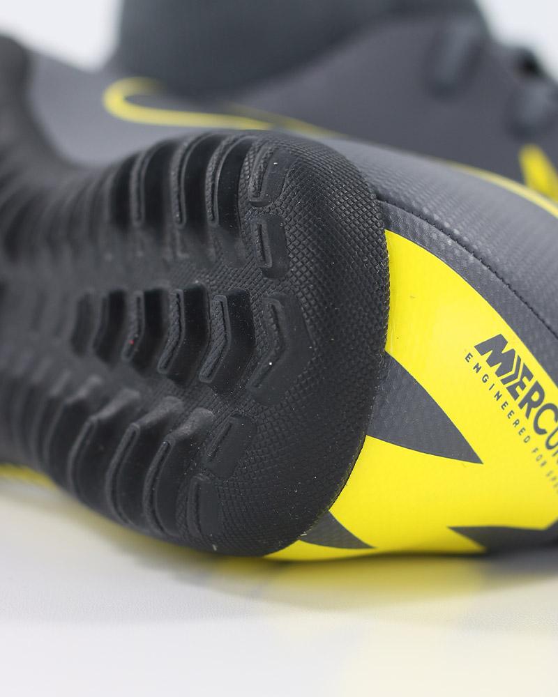 fe72e46bc9 Nike Scarpe Calcio Mercurial Grigio Calcetto Turf SuperflyX 6 Club con  calzino 5 5 di 12 ...