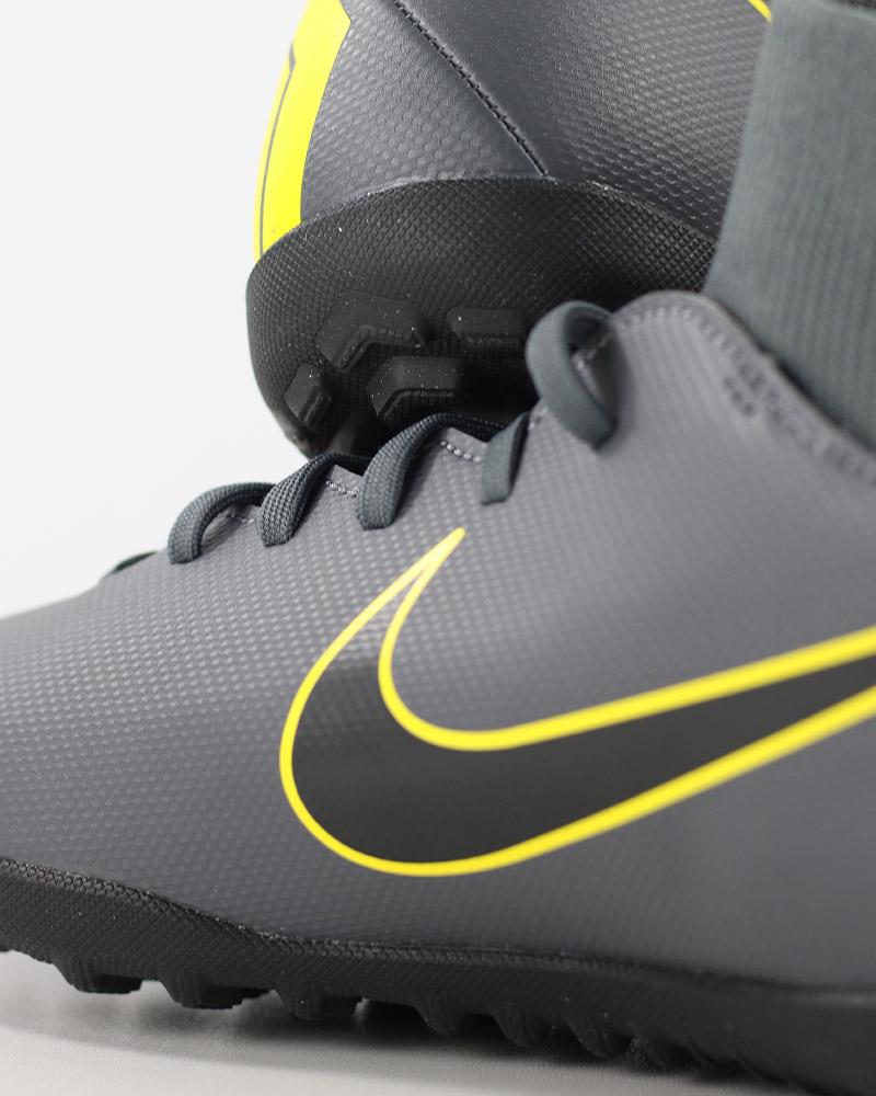 Nike Scarpe Calcio Mercurial Grigio Calcetto Turf SuperflyX 6 Club con  calzino 8 8 di 12 ... 8612e7d000c