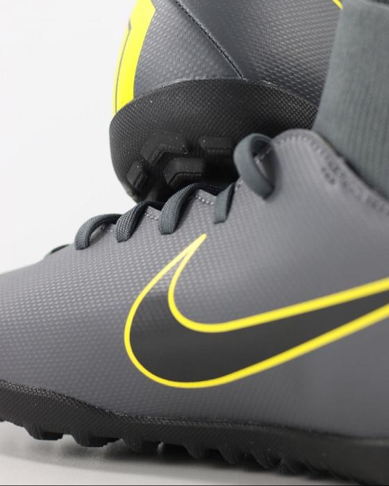 e2677bb29d ... Scarpe calcetto Nike Mercurial SuperflyX 6 Club Turf con calzino Uomo  Grigio giallo Originale - Football ...
