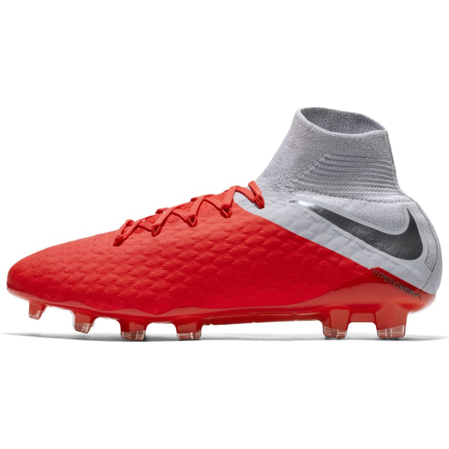 b7dadefcb38 Nike Scarpe Calcio Hypervenom Phantom 3 Pro Dynamic Fit FG Rosso 7 7 sur 9  ...