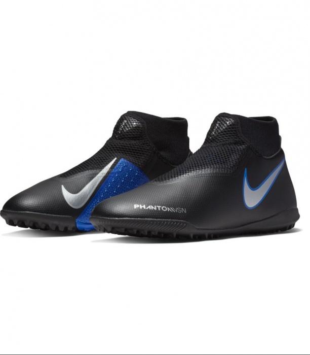 696e42c00 Scarpe Calcetto Nike Hypervenom Phantom Vision Academy DF Turf Dynamic Fit  Turf con calzino SENZA LACCI ...