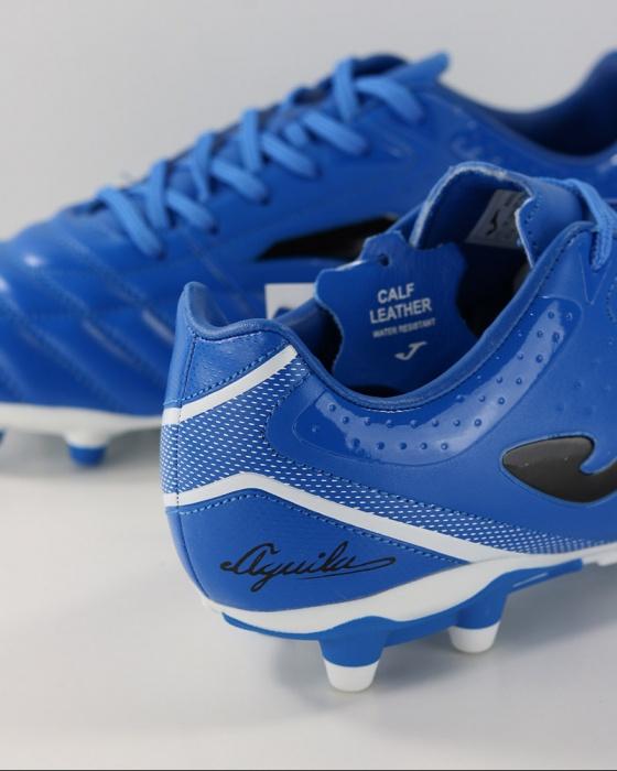 Dettagli su Football shoes Joma Scarpe Calcio Aguila Gol 904 FG Uomo Blu 2019 Vera pelle