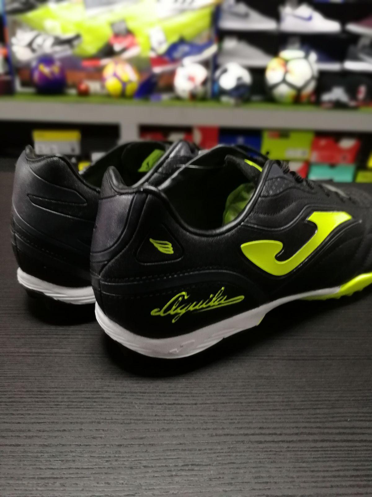 5ca0cb2a2ca9b Football shoes Joma Scarpe da Calcio Aguila Nero Giallo Calcetto Turf  Trainers 7 7 di 7 Vedi Altro