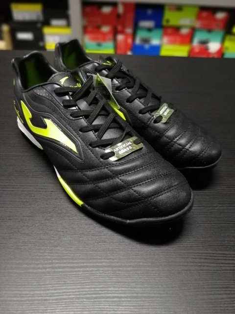Indoor Soccer Shoes Yellow Black man-2018 Joma Aguila Turf Football boots  shoes Joma Aguila ... 8e7c3a57e897b