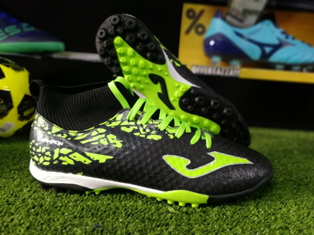 fc8bec56fc73 ... Indoor Soccer Shoes Joma Champion 801 Turf trainers With black sock man-Football  boots shoes ...