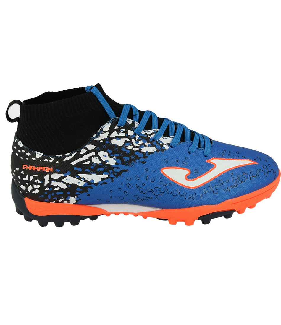 6 sur 7 Football shoes Joma Scarpe da calcio Champion Blu Calcetto Turf 801  con calzin 55e53100a4030