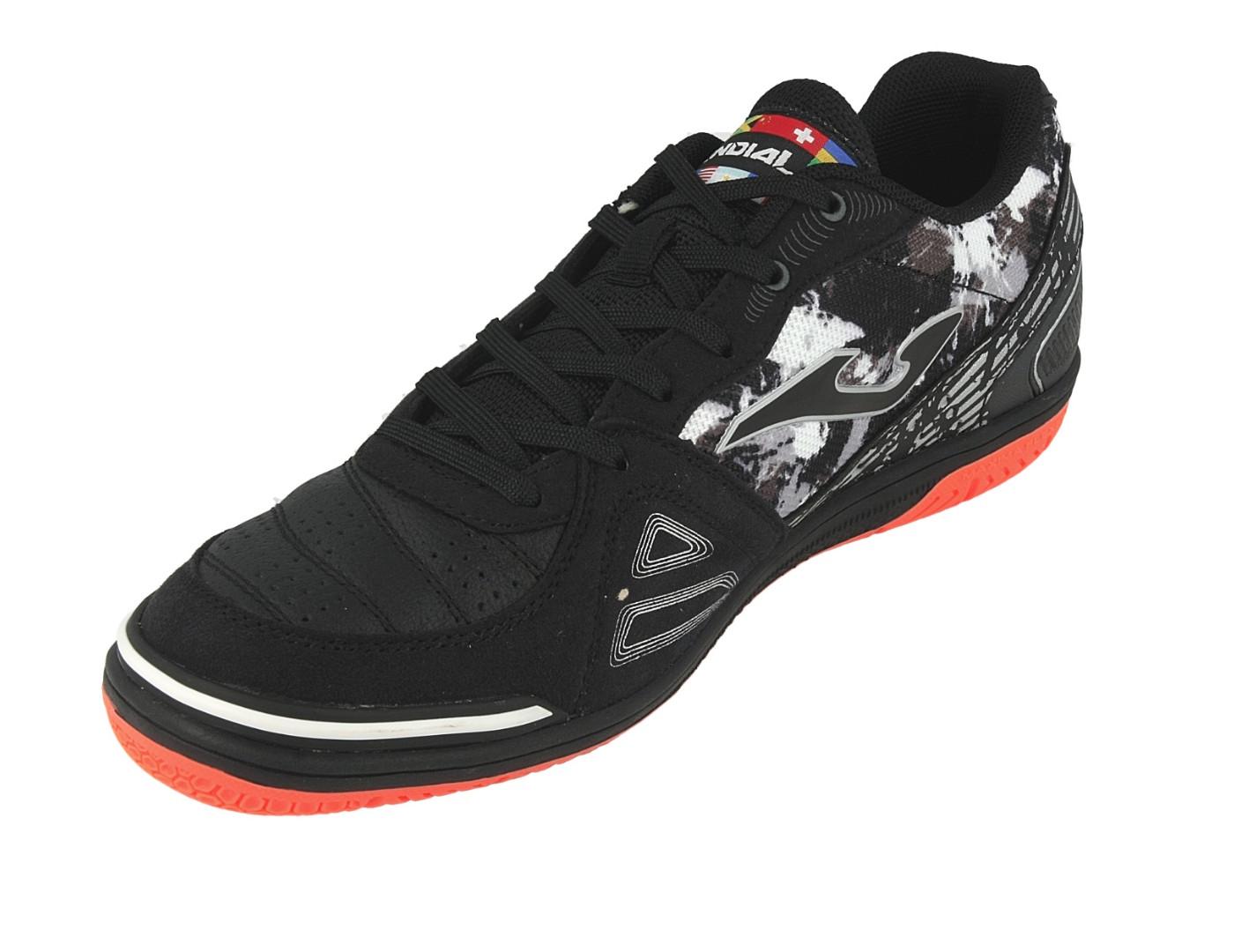 0e3d4e547 Football shoes Joma Scarpe Calcio Mundial Nero Indoor IC Sala Futsal parquet  6 6 di 8 ...
