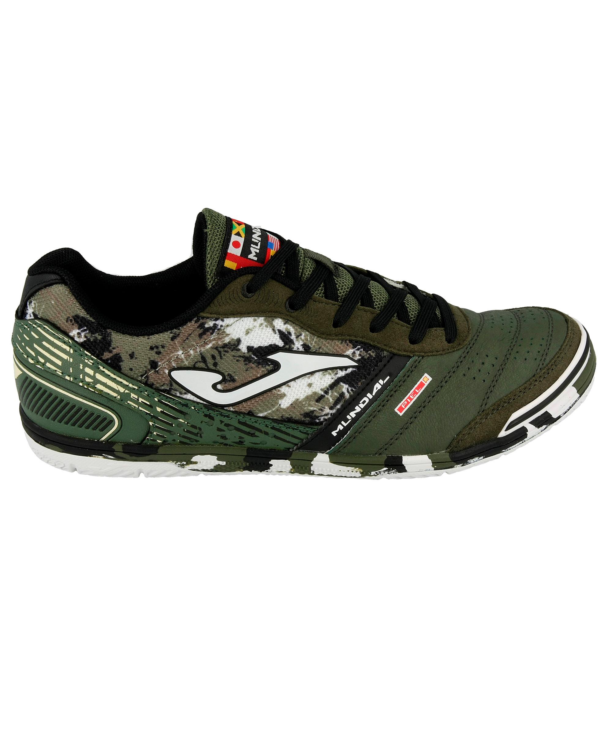 Football-shoes-Joma-Scarpe-Calcio-Mundial-Verde-Indoor-IC-Sala-Futsal-parquet miniatura 3
