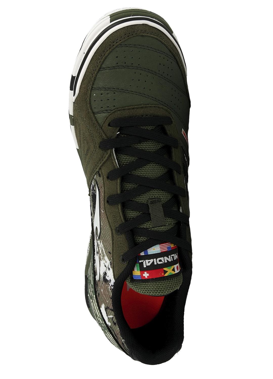 Football-shoes-Joma-Scarpe-Calcio-Mundial-Verde-Indoor-IC-Sala-Futsal-parquet miniatura 4