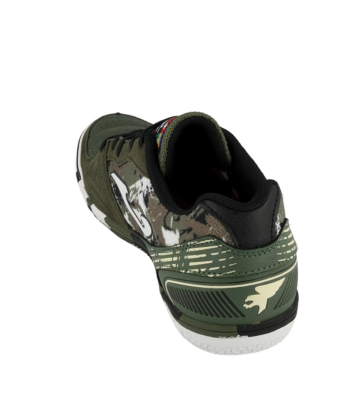 Football-shoes-Joma-Scarpe-Calcio-Mundial-Verde-Indoor-IC-Sala-Futsal-parquet miniatura 7