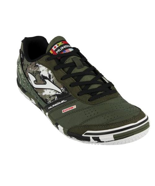 8a37e7fc5 ... Scarpe Calcetto Joma Mundial Indoor sala Futsal Originale Uomo Verde  camouflage Vera pelle - Football boots