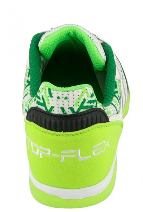26135c2463 Scarpe da calcetto Joma Top Flex 815 Indoor Vera pelle uomo bianco verde -  Football Boots ...