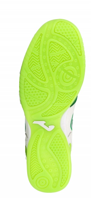 ... Joma Top Flex Indoor Soccer Shoes 815 green-white man leather Football  Boots shoes Joma ... f32e8ac3a96e7