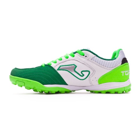 ... Joma Top Flex indoor soccer shoes 815 Turf Top range original green  white man leather real ... 55327a892b829