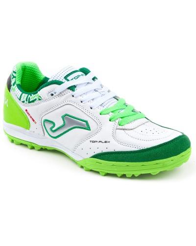 detailing 6ec77 4d19d ... Joma Top Flex indoor soccer shoes 815 Turf Top range original green  white man leather real
